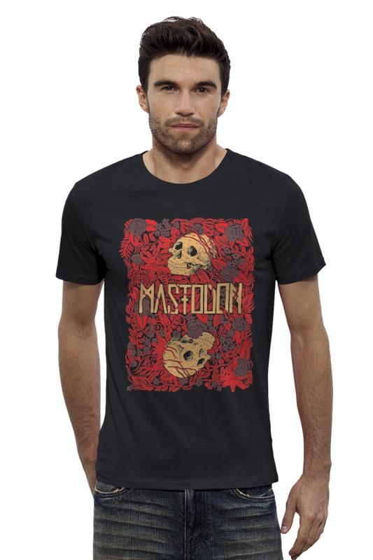 Футболка Wearcraft Premium Slim Fit Printio Mastodon band mastodon mastodon live at the aragon 2 lp dvd