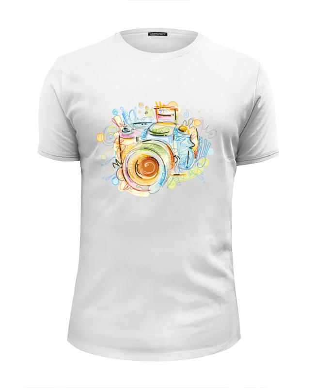Футболка Wearcraft Premium Slim Fit Printio Фотоаппарат футболка стрэйч printio фотоаппарат