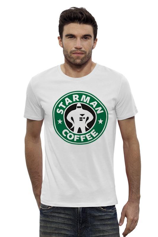 Футболка Wearcraft Premium Slim Fit Printio Starman coffee футболка wearcraft premium printio starman coffee