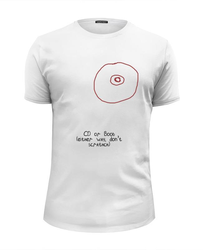 Футболка Wearcraft Premium Slim Fit Printio Cd или титя рубашка поло stella plays printio cd или титя