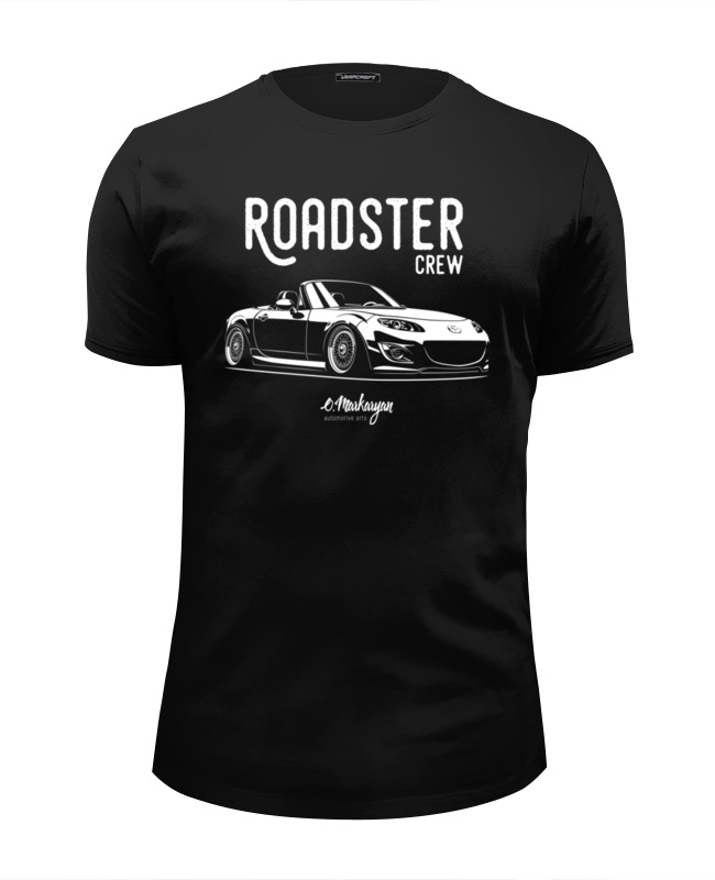 Футболка Wearcraft Premium Slim Fit Printio Mazda mx5 miata (nc) автохолодильник ezetil e 26 m 12 230v