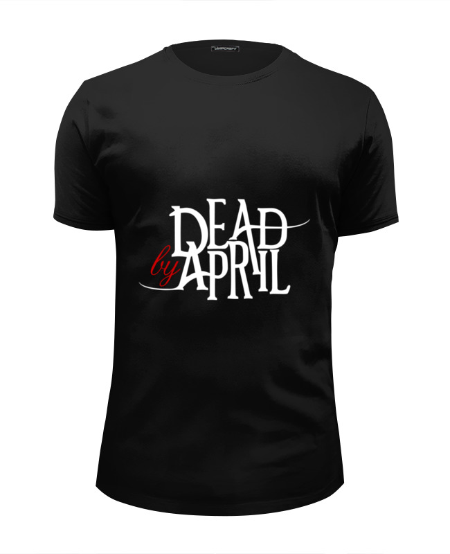 Футболка Wearcraft Premium Slim Fit Printio Dead by april футболка dead by daylight