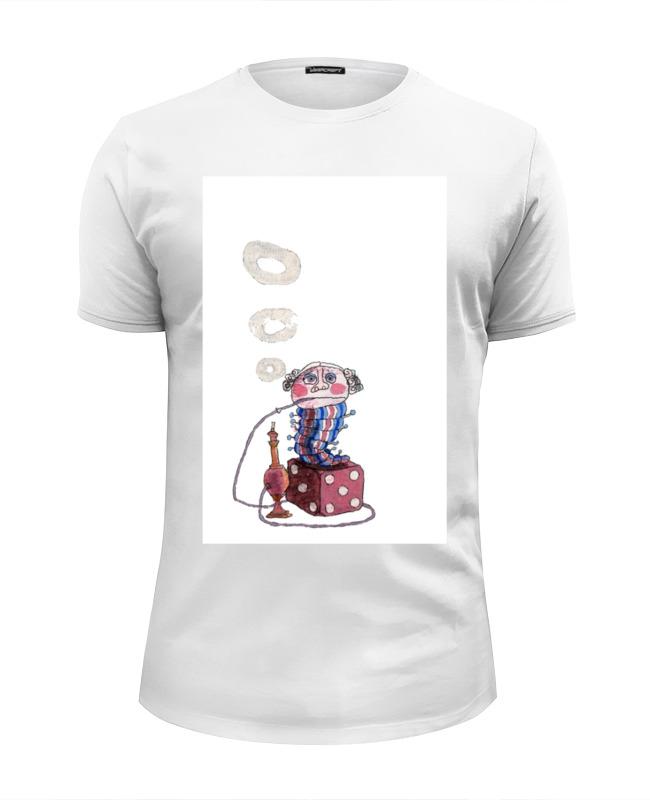 Футболка Wearcraft Premium Slim Fit Printio Странная гусеница курит кальян sims xu 4pcs 500 одноразовая электронная сигарета моделирования пара кальян разнообразие вкус атомизатор жидкий электронный кальян