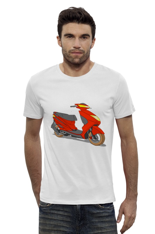 Футболка Wearcraft Premium Slim Fit Printio Мопед футболка классическая printio мопед
