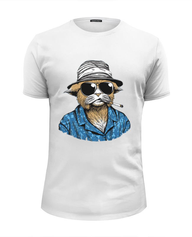 Printio Hunter s. thompson cat футболка wearcraft premium slim fit printio nature s prophet dota 2