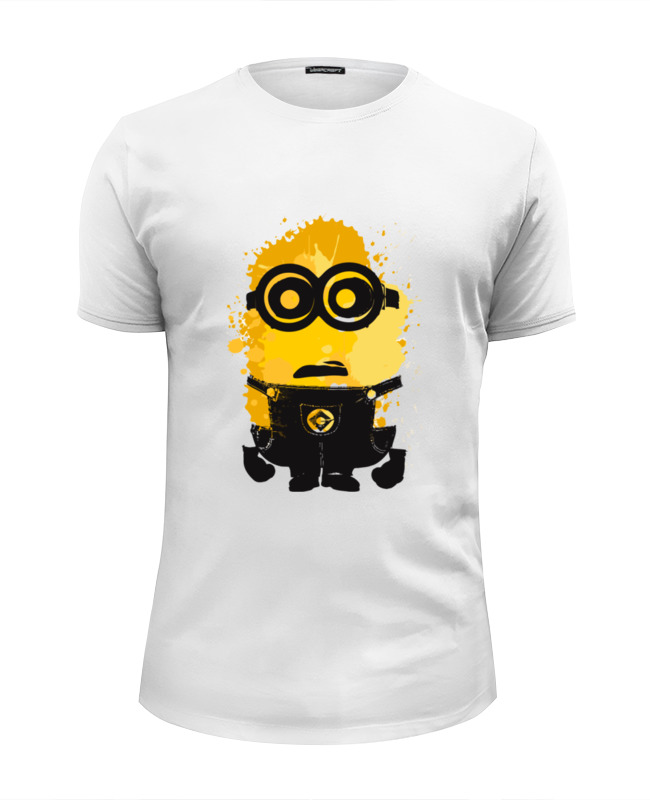 Футболка Wearcraft Premium Slim Fit Printio Миньон (minion) футболка wearcraft premium slim fit printio миньон