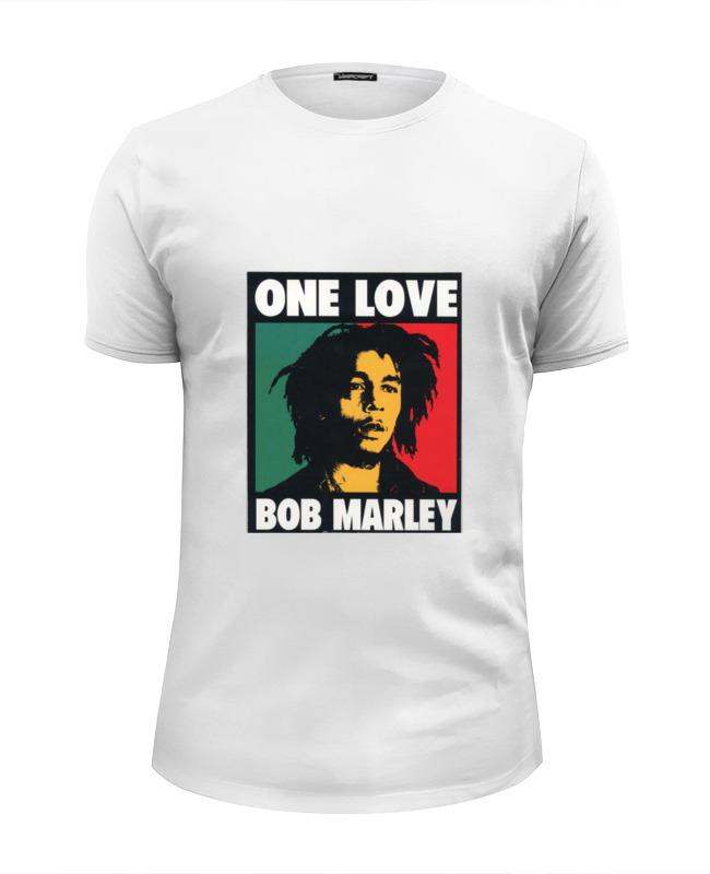 Футболка Wearcraft Premium Slim Fit Printio Bob marley bob marley