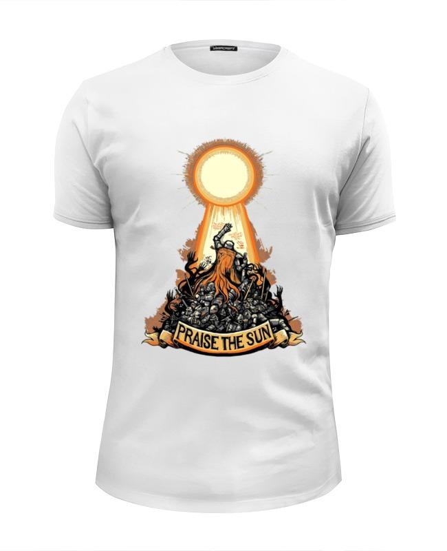 Футболка Wearcraft Premium Slim Fit Printio Praise the sun футболка классическая printio praise the sun