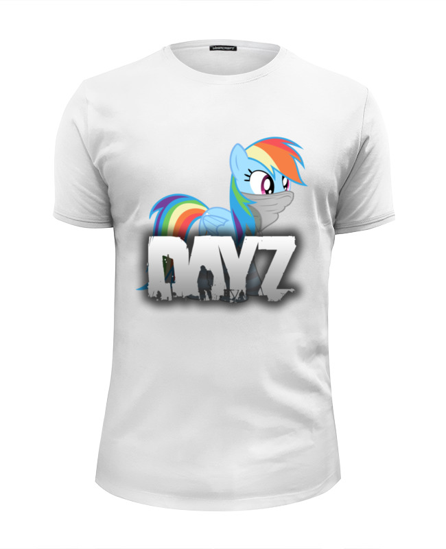 Футболка Wearcraft Premium Slim Fit Printio Rainbow in dayz