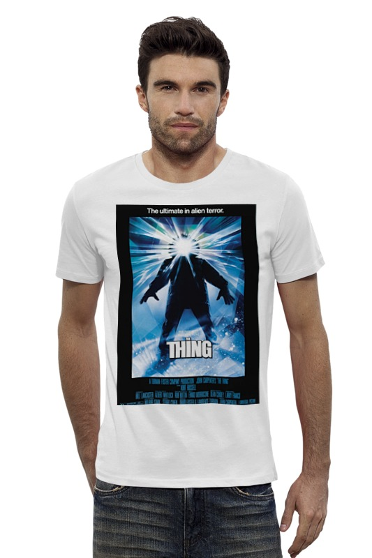 Футболка Wearcraft Premium Slim Fit Printio Нечто / the thing the right thing
