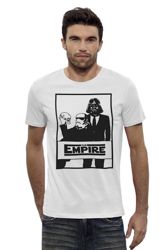 Футболка Wearcraft Premium Slim Fit Printio The empire. звёздные войны футболка классическая printio the empire звёздные войны