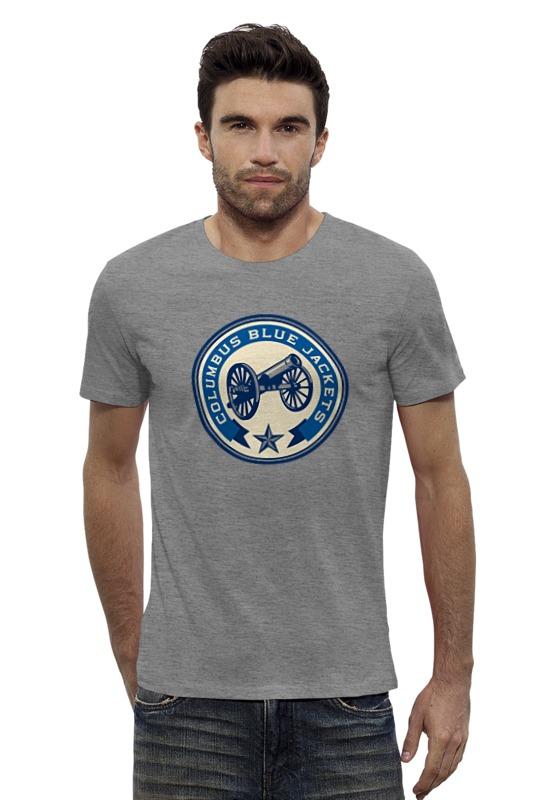 Футболка Wearcraft Premium Slim Fit Printio Columbus blue jackets / nhl usa футболка wearcraft premium slim fit printio fender usa