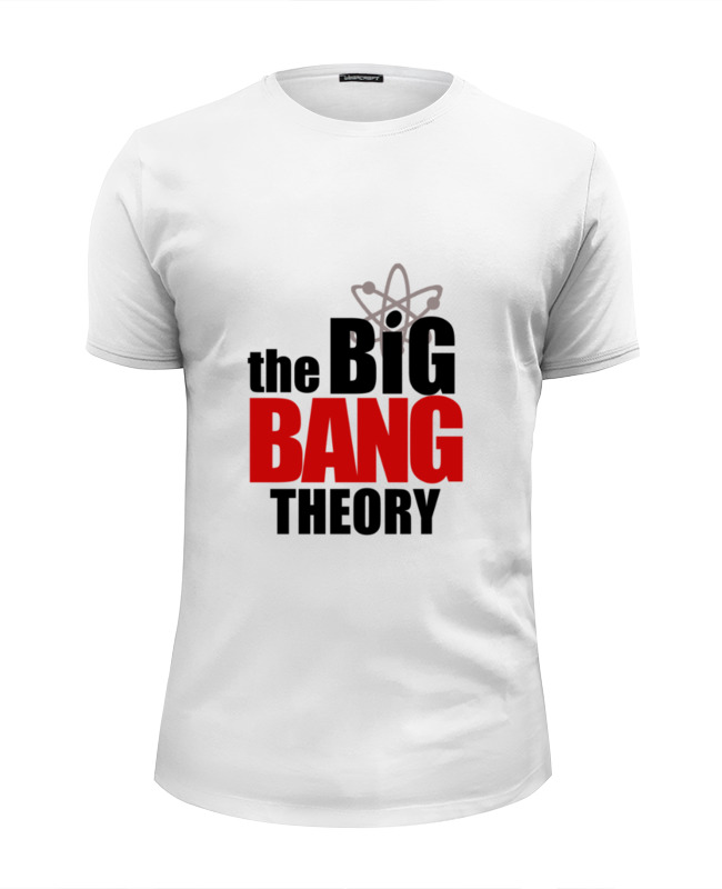 Фото - Футболка Wearcraft Premium Slim Fit Printio The big bang theory сумка printio the big bang theory
