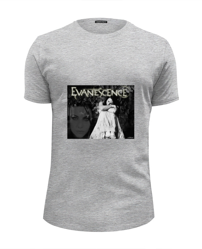 Футболка Wearcraft Premium Slim Fit Printio Evanescence (amy lee) футболка классическая printio evanescence amy lee