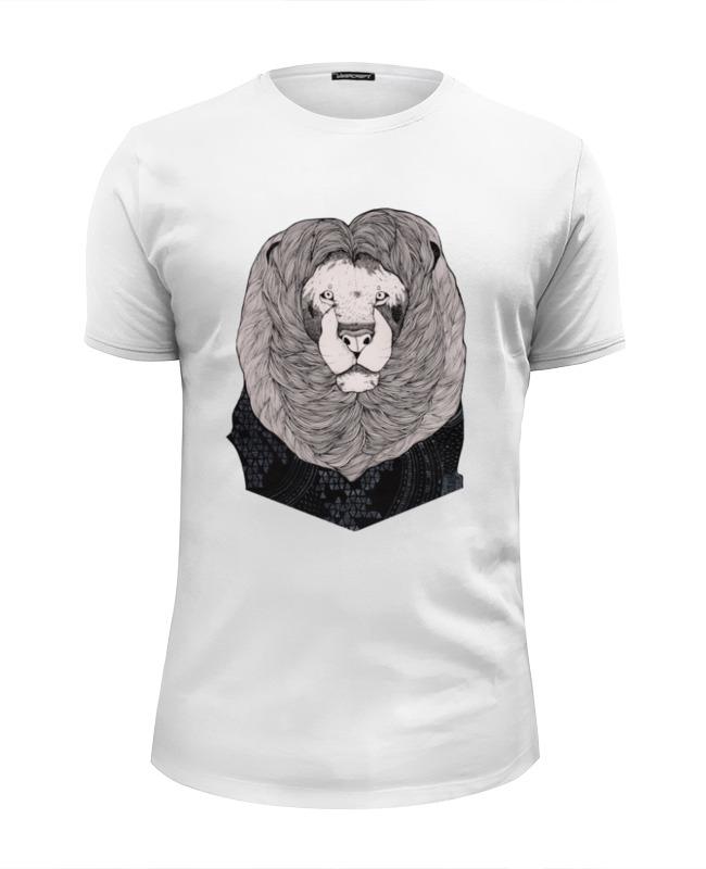 Футболка Wearcraft Premium Slim Fit Printio Mr. lion футболка wearcraft premium slim fit printio mr handy