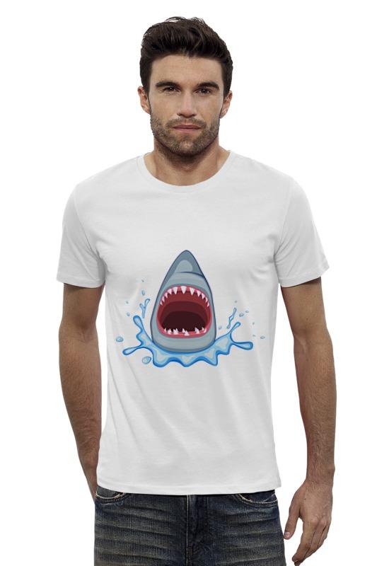 Футболка Wearcraft Premium Slim Fit Printio Акула футболка wearcraft premium slim fit printio кит ричардс