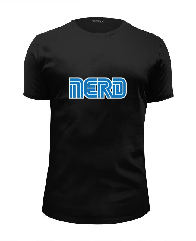 Футболка Wearcraft Premium Slim Fit Printio Nerd (sega) майка классическая printio nerd sega