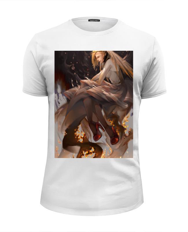 Футболка Wearcraft Premium Slim Fit Printio Mercy футболка wearcraft premium printio mercy