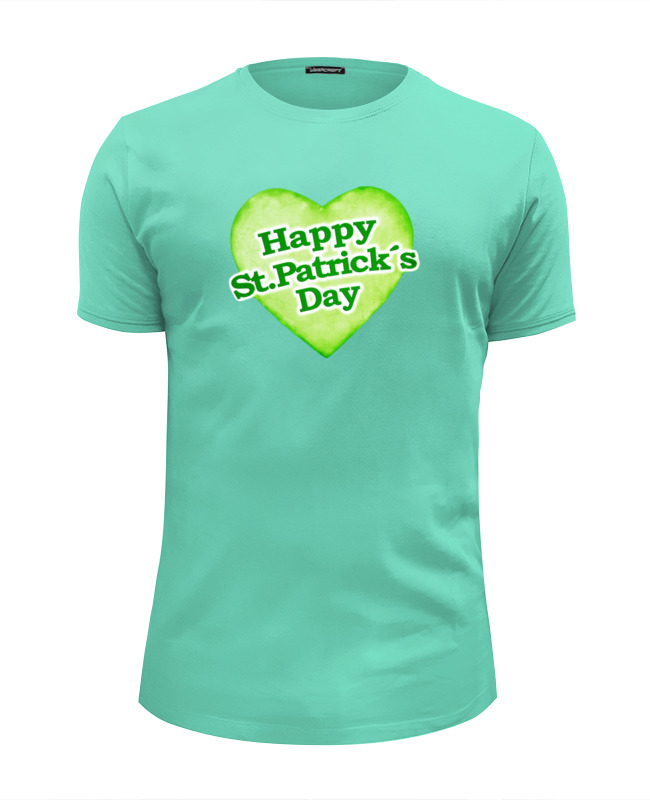Футболка Wearcraft Premium Slim Fit Printio День святого патрика колочкова в благословение святого патрика isbn 9785699675500