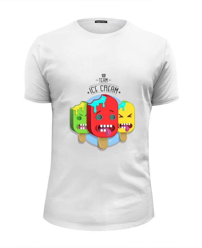 Футболка Wearcraft Premium Slim Fit Printio Team ice cream