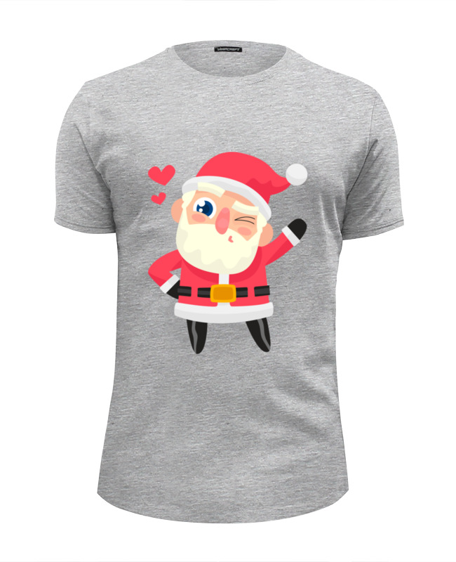 Футболка Wearcraft Premium Slim Fit Printio Дед мороз футболка wearcraft premium slim fit printio дед мороз santa