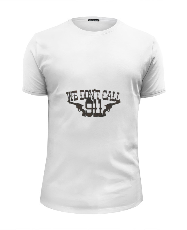 Футболка Wearcraft Premium Slim Fit Printio We dont call футболка huf dont call me shirley tee white