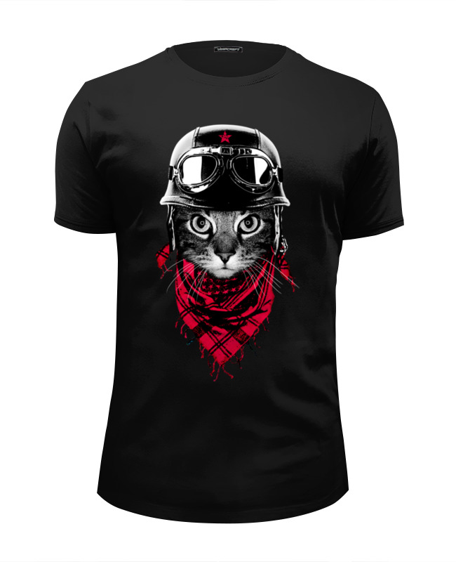 Футболка Wearcraft Premium Slim Fit Printio Кот авантюрист футболка wearcraft premium slim fit printio усатый кот