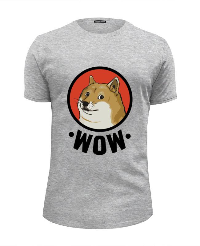 Футболка Wearcraft Premium Slim Fit Printio Лайка wow футболка print bar wow