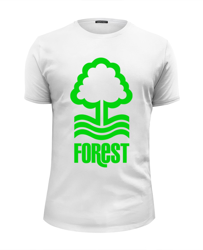 Футболка Wearcraft Premium Slim Fit Printio Лес (дерево) футболка wearcraft premium printio изабель приходи в лес животных