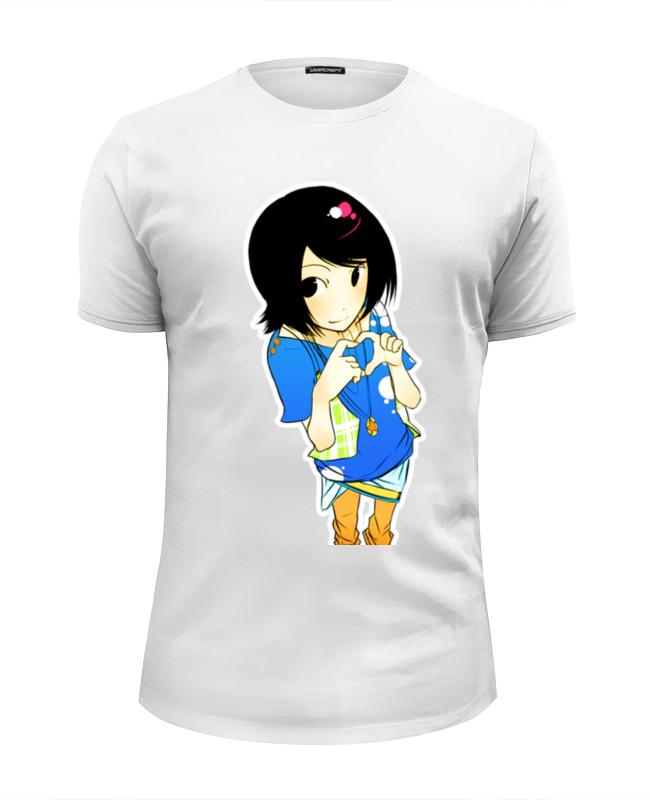 Футболка Wearcraft Premium Slim Fit Printio Анимешка футболка классическая printio анимешка