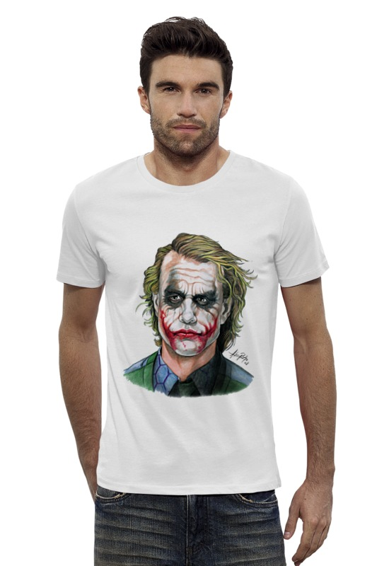Футболка Wearcraft Premium Slim Fit Printio Joker style футболка wearcraft premium slim fit printio joker