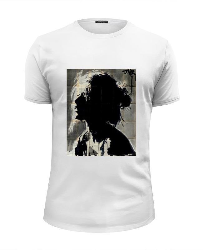 Футболка Wearcraft Premium Slim Fit Printio Девушка футболка wearcraft premium slim fit printio сексуальная девушка в молоке