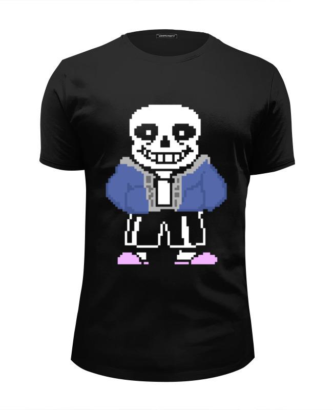 Printio Санс (undertale) футболка wearcraft premium slim fit printio папирус и санс undertale