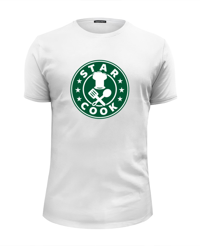 Фото - Футболка Wearcraft Premium Slim Fit Printio Звездный повар (star cook) футболка wearcraft premium slim fit printio звездный повар