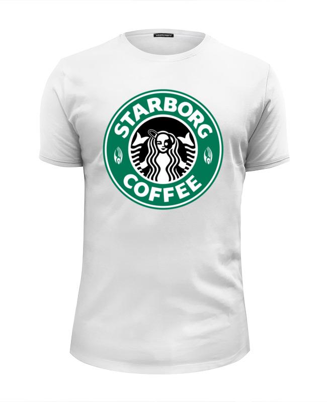 Футболка Wearcraft Premium Slim Fit Printio Starborg (звёздный путь) футболка wearcraft premium slim fit printio starborg звёздный путь