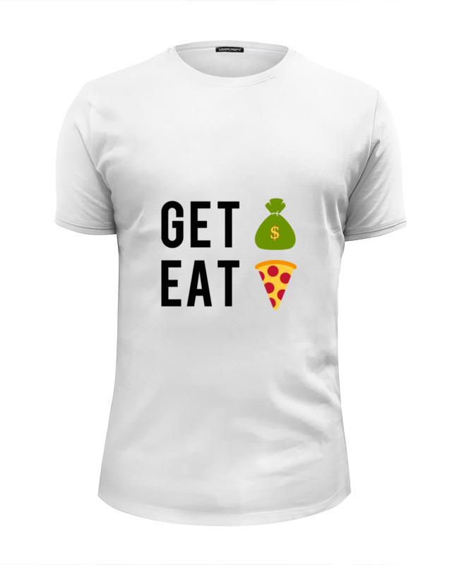 Футболка Wearcraft Premium Slim Fit Printio Деньги пицца футболка wearcraft premium slim fit printio пицца мой валентин