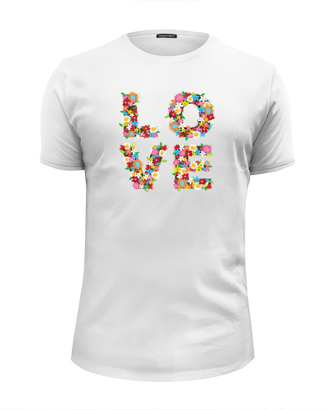 Футболка Wearcraft Premium Slim Fit Printio Love футболка wearcraft premium slim fit printio love for orlando