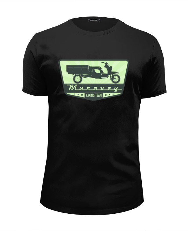 Футболка Wearcraft Premium Slim Fit Printio Muravey racing team