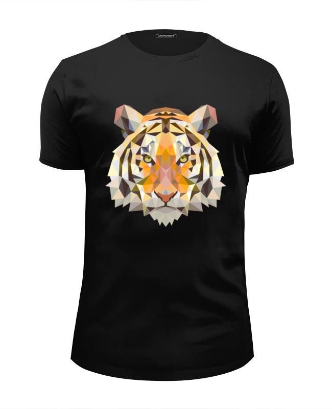 Футболка Wearcraft Premium Slim Fit Printio Тигр - tiger тигр tiger челюстно b18c импортированные рисоварки внутренний 5л