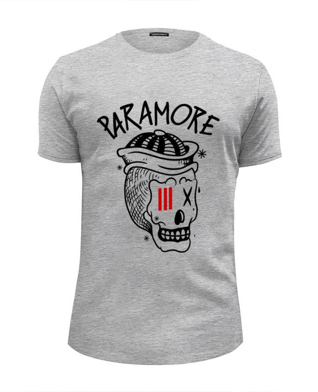 Футболка Wearcraft Premium Slim Fit Printio Paramore футболка wearcraft premium slim fit printio миньон