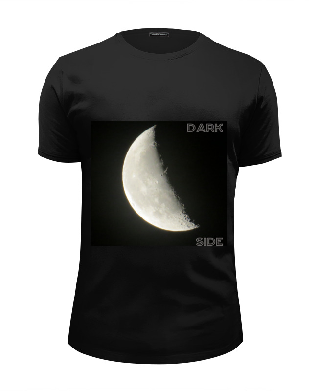 Футболка Wearcraft Premium Slim Fit Printio Moon dark - луна темная changeling dark moon