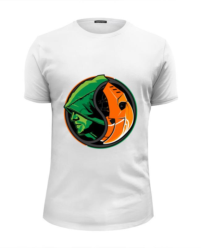 Printio Дефстроук (зеленая стрела) футболка wearcraft premium printio дефстроук