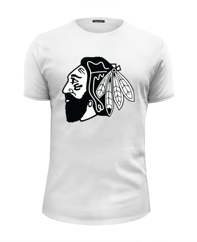 Printio Индеец (чикаго блэкхокс) футболка wearcraft premium slim fit printio chicago blackhawks page 8 page 9 page 6