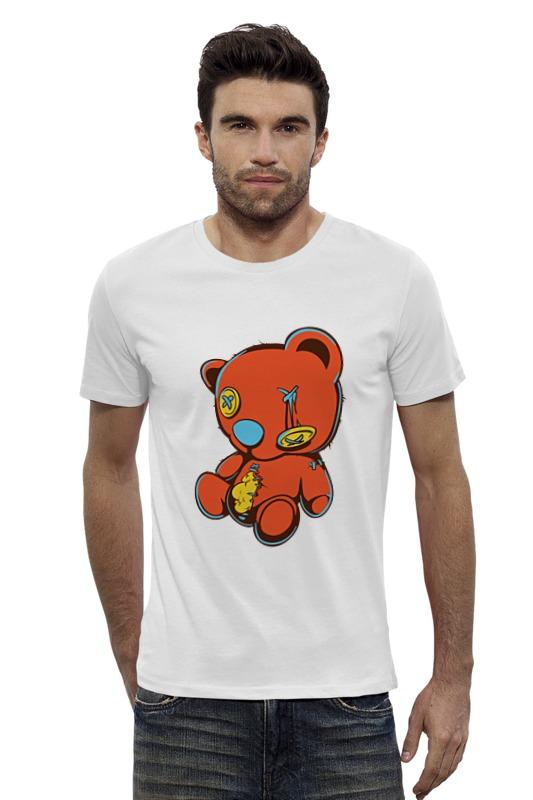 Футболка Wearcraft Premium Slim Fit Printio Dead teddy bear футболка стрэйч printio dead teddy bear