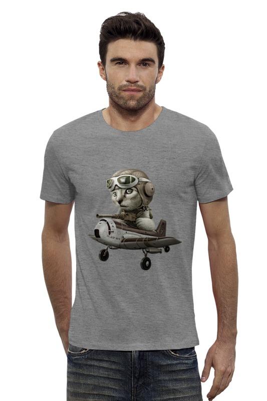 Футболка Wearcraft Premium Slim Fit Printio Лётчик футболка wearcraft premium slim fit printio vampire