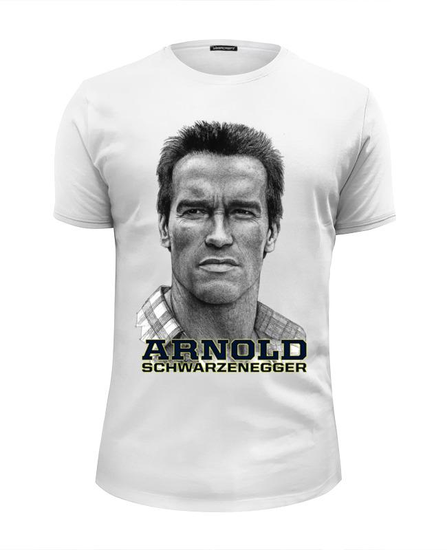 Футболка Wearcraft Premium Slim Fit Printio Arnold schwarzenegger футболка рингер printio arnold schwarzenegger