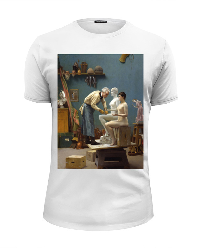 Printio Модель скульптора (жан-леон жером) цена и фото