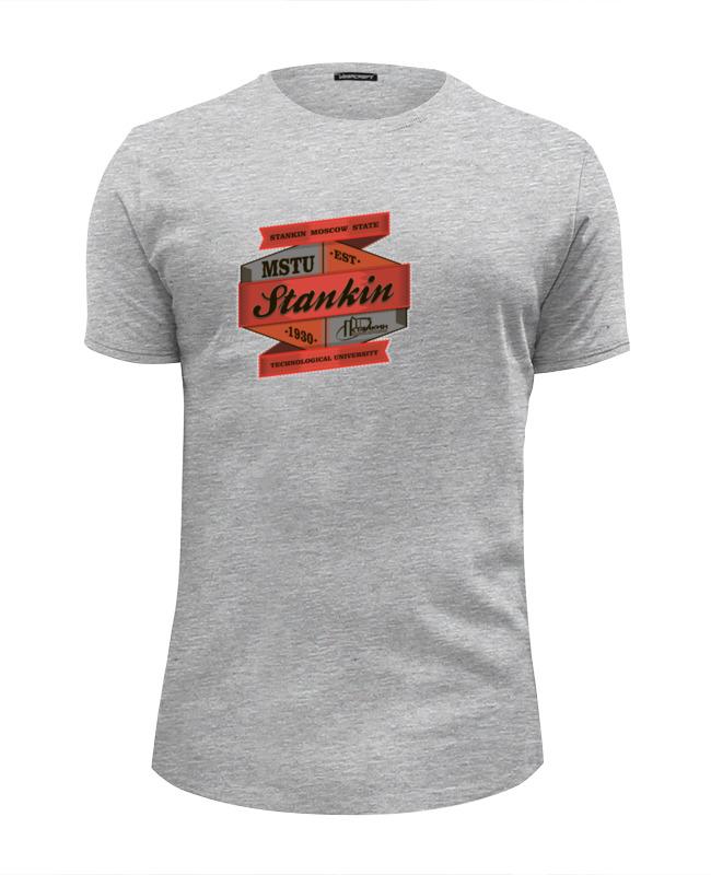 Футболка Wearcraft Premium Slim Fit Printio Мгту «станкин» толстовка wearcraft premium унисекс printio футболка женская мгту станкин