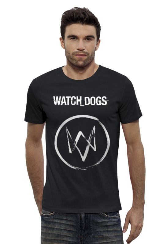 Футболка Wearcraft Premium Slim Fit Printio Watch_dogs футболка wearcraft premium printio монстер хай