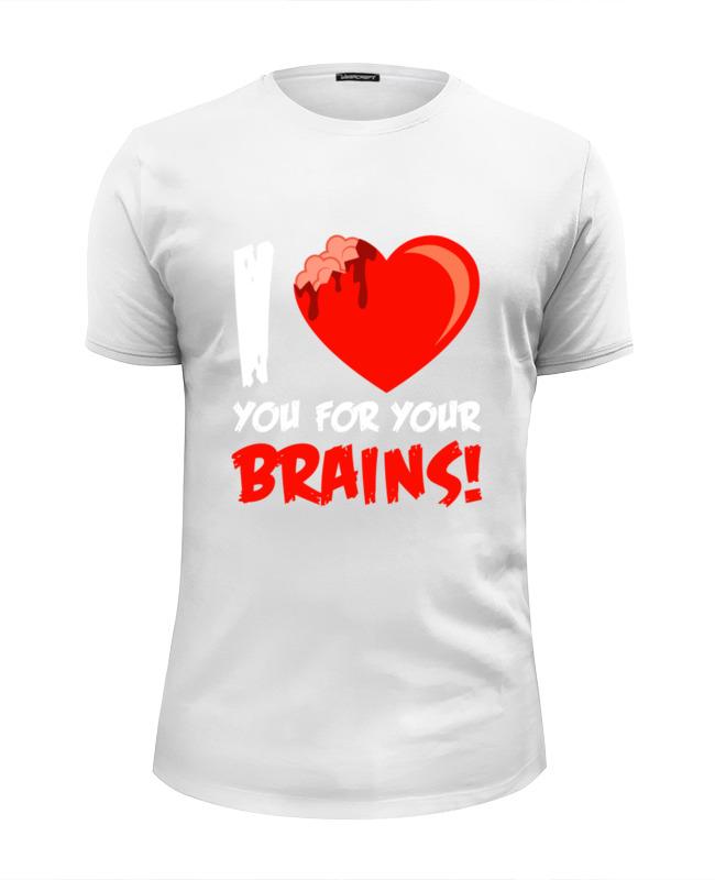 Printio I love brains (zombie) цена и фото